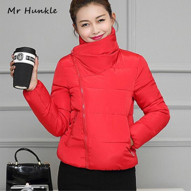 The New Winter Women 2016 Cotton-Padded Jacket Coat Down With Thick Female Students Short Winter Jacket Plus Size XXXL