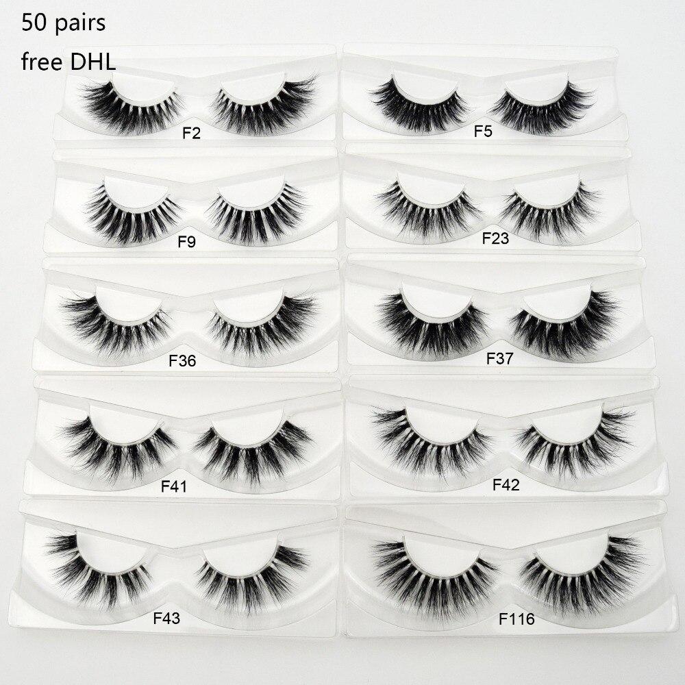 112092ba054 Wholesale Free DHL 50pairs False Eyelash Invisible Band Lashes Natural  Eyelashes Cilios Long Lashes Clear Band Mink Eyelashes