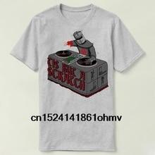 Tis But a Scratch Monty Python Holy Grail Shirt short sleeve cotton t-shirt  women 9a20851636fb