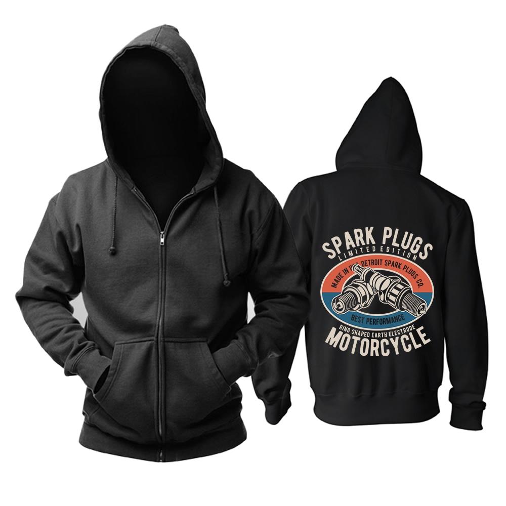 Zipper Sweatshirt Nice soft and warm Visceral Disgorge Rock black hoodies autumn winter jacket punk death