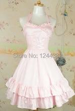 Noble Style Cotton Sleeveless Women Lolita Tutu Dress with Barbie Look