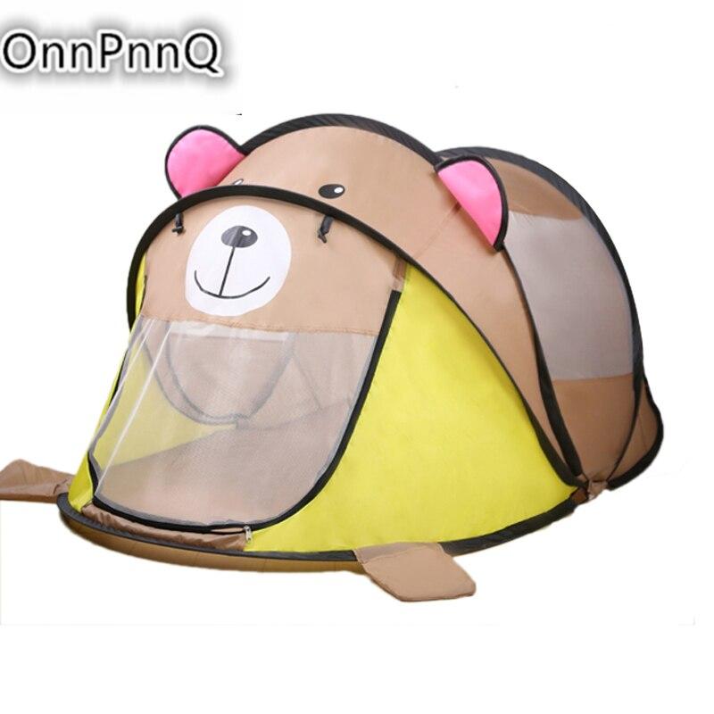 2017 cartoon animal toy tents children house kids for tent indoor outdoor play tent folding baby