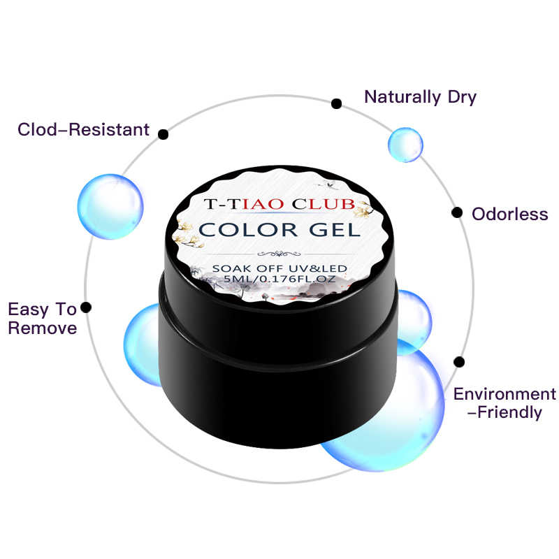 T-TIAO CLUB Matte Top Mantel Häutchen öl Basis Gel Nagellack Hybrid Set Für Maniküre Nail art Gel Lacke Alle für Nägel Prep