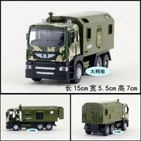 Gift For Baby 1pc 15cm Army Military Truck Vehicle Engineering Van Car Acousto Optic Plastic Alloy
