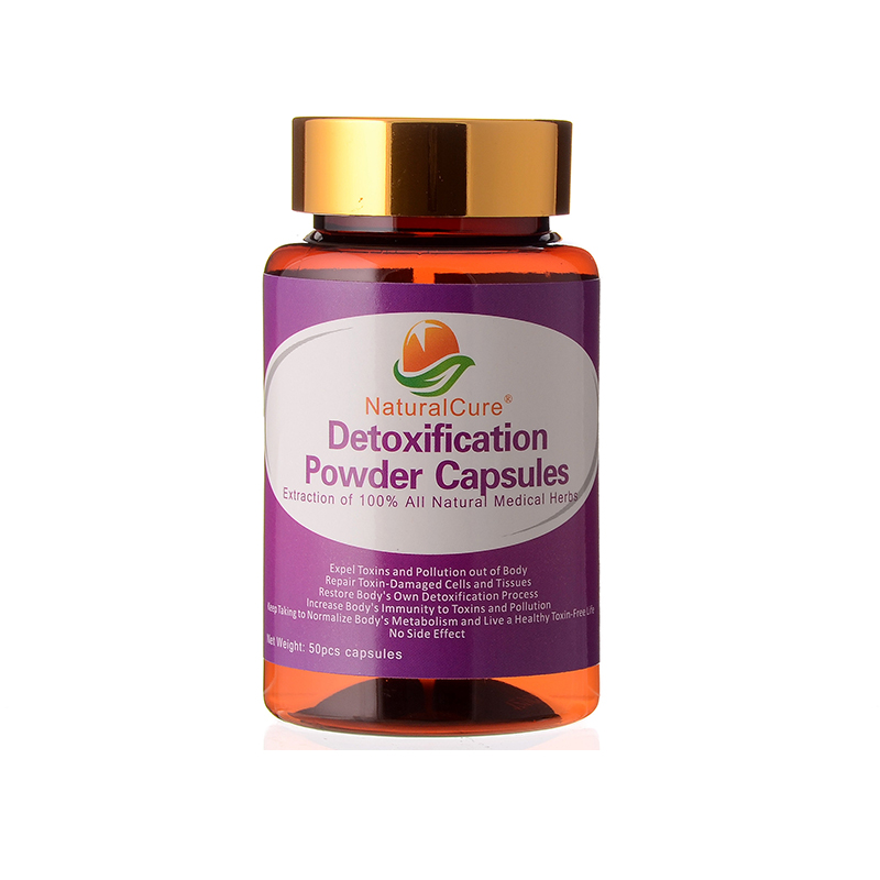 NaturalCure Detoxification Powder Capsules, Weight Loss, Expel Toxin From Your Body, Plants Extract, Cleanse Your Organs Safely