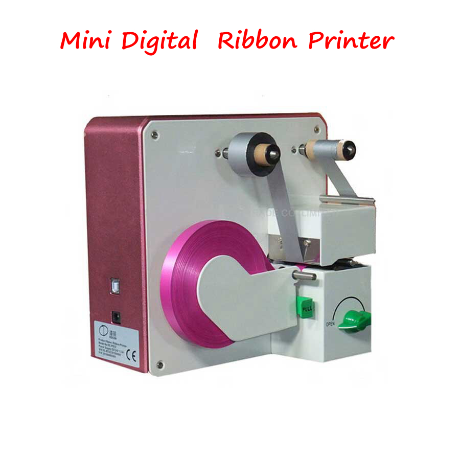 DC-PD32 Digital Ribbon Gilding Press Machine Mini Ribbon Printer Heat Transfer Printing Machine