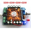 DC 12 V-16 V TDA7850 4 Channel 50 w + 50 w + 50 w + 50 w HIFI Car Audio Amplifier Board + Ventilador 50x4