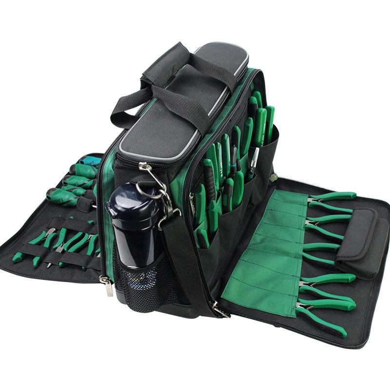 LAOA Multi-função Saco Kit de Ferramentas de Manutenção Após-venda bolsa de Ombro grande saco de lona grossa Oxford sacos de pano elétrico