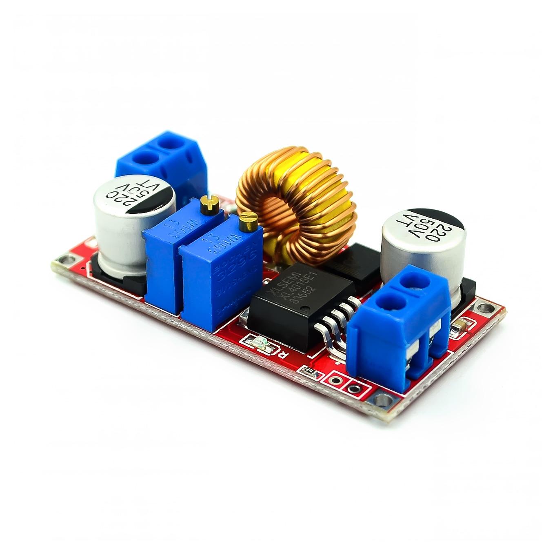! 5A с драйвером постоянного тока для светодиода модуля зарядки аккумулятора постоянное напряжение DC-DC силовой модуль XL4015