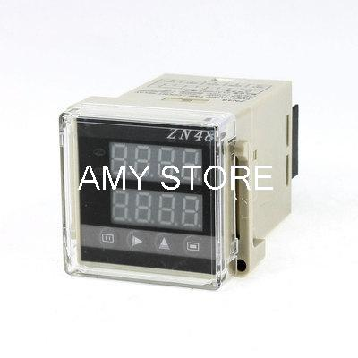 цена на 1-9999 Up Down Programmable 4 Digits Display Mini Counter Relay ZN48