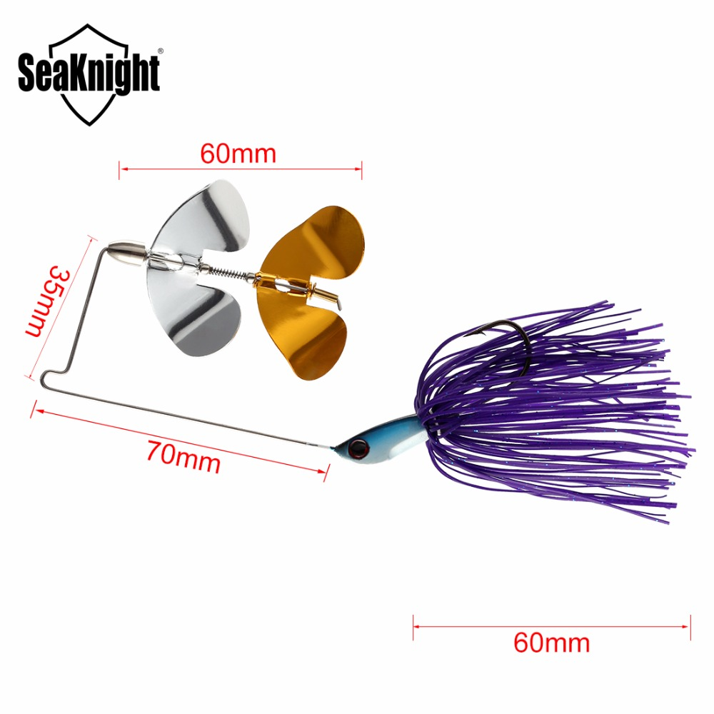 small resolution of 2017 seaknight sk103 sk104 spinner bait 10g 14g 4pcs bass fish metal bait rubber jig fishing lure spoon lead head pike lures in fishing lures from sports