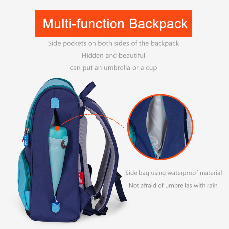 NOHOO Children School Bags for Boys Orthopedic Waterproof School Backpacks Girls Book Bag Knapsack Mochila escolar for 6-12 Year