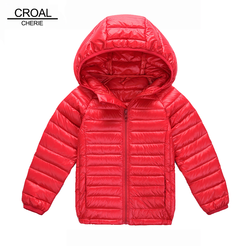 90-150cm 80% White Duck Down Children Jacket For Girls Boys Winter Warm Kids Outerwear & Coats Portable Down Parkas For Baby children winter coats jacket baby boys warm outerwear thickening outdoors kids snow proof coat parkas cotton padded clothes