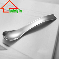 2015 Free Shipping Stainess Steel Tea Spoon Beautiful Solid Coffee Spoon Suitable For All People With