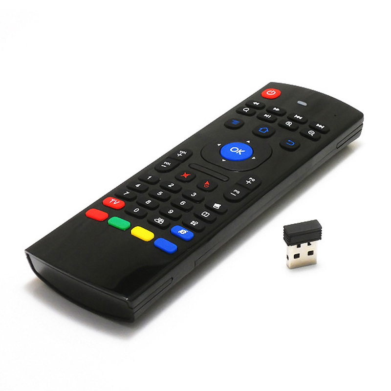 Multifunction Remote Control Wireless Keyboard Controller <font><b>Air</b></font> <font><b>Mouse</b></font> For Android Player Smart TV Set Top Box Projectors DJA99