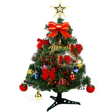 60CM New Year Christmas Tree Xmas ornaments wedding party home house festival decoration accessories Enfeites Decoracao De Natal