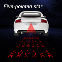 Laser Taillight For Motorcycle Auto Lantern Accessories Decorative Rear Fog Lamp Warning Light LED Laser Fog