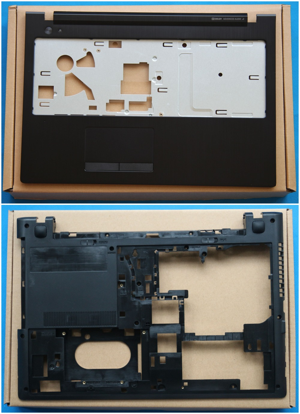 New Original Lenovo G500S G505S Palmrest Keyboard Bezel Upper Cover + Bottom Base Lower Case Black AP0YB000H10 AP0YB000I00 new lenovo g500s g505s ap0yb000h00 bottom base cover