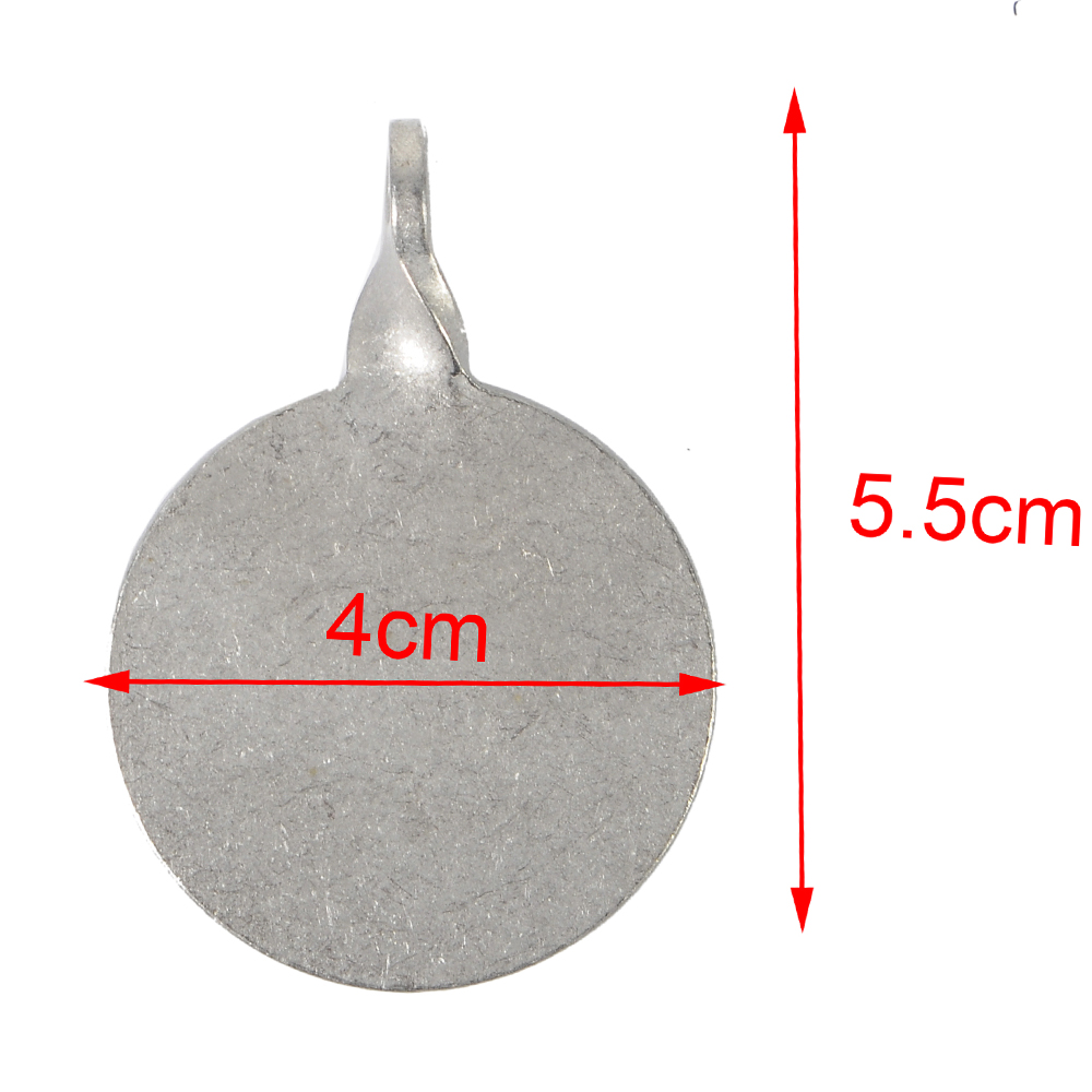 Image 5 - 6pcs Dia Shooting Target Stainless Steel 3cm/4cm Bullseye Hunting Catapult Airsoft Paintball Archery Bow Training Target-in Paintball Accessories from Sports & Entertainment