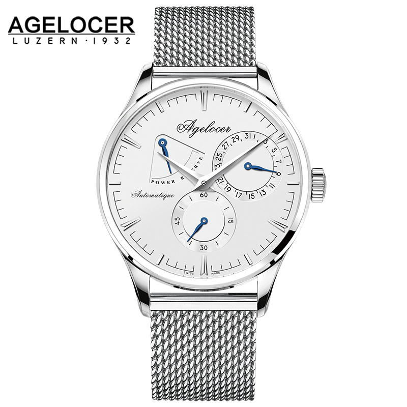 AGELOCER Mens Watches Top Brand Luxury Watch Men Business Special Design wristwatches Sport Watches Relogio Masculino For Gift елена александровна власова ряды