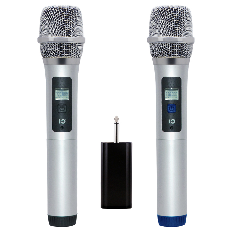 dual wireless handheld mic shidu uhf dynamic vocal microphone with plug receiver for live. Black Bedroom Furniture Sets. Home Design Ideas