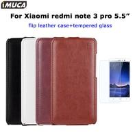 Xiaomi Redmi Note 3 Pro Case Luxury Flip Cover Xiaomi Redmi Note 3 Pro Prime IMUCA