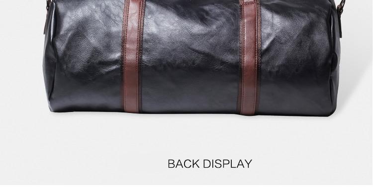 91da1bd55 Jonon Men Travel Bag Fashion Large Capacity Shoulder Handbag ...