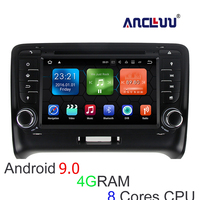 Android 8.0 4G RAM Car DVD Player for Audi TT 2007 2008 2009 2010 2011 2012 2013 2014 car radio gps navigation headunit 8 cores