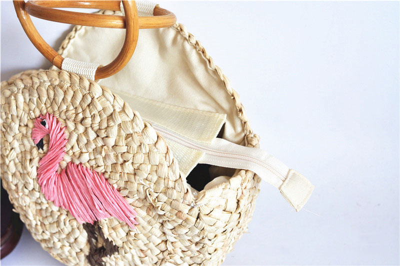 LJT 2019 Round Straw Bags Women Beach Rattan Bag Handmade Woven Female  Crossbody Bag Circle Bohemia Handbags Box DropshippingUSD 16.49 piece f957bc8861bf9