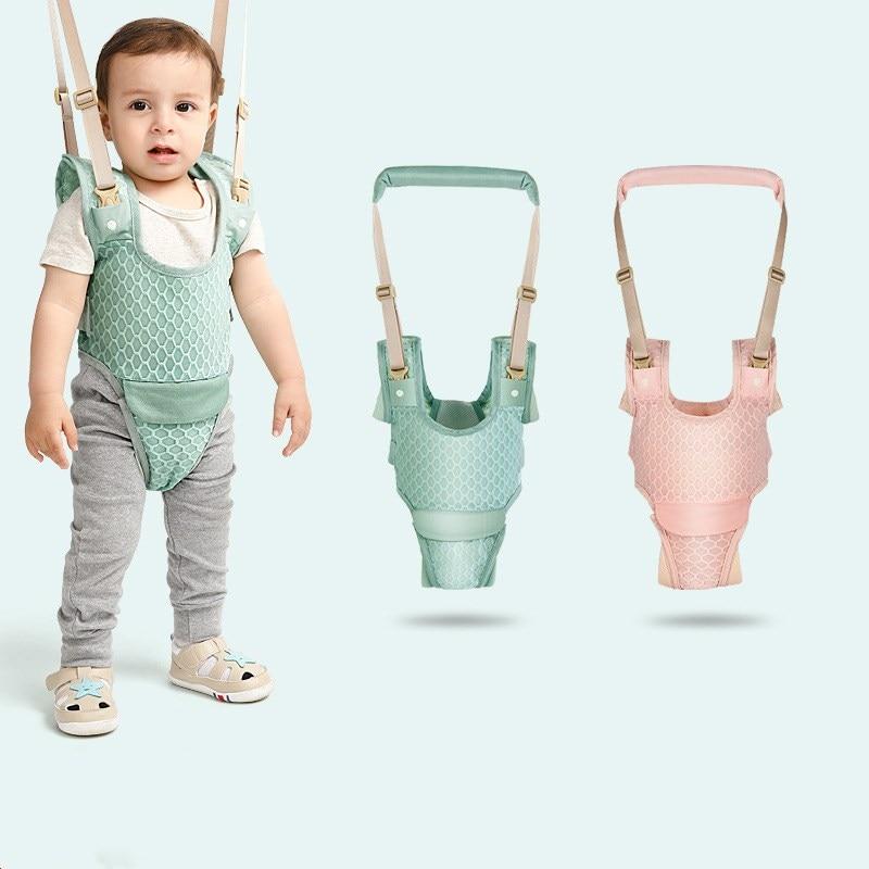 Abnehmbare Baby Walker Assistent Kleinkind Leine Kinder Zu Fuß Baby Gürtel Kind Sicherheit Harness Leine Infant Baby Mond Spaziergang Gürtel