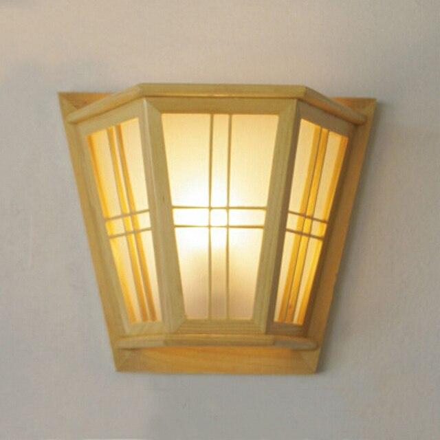Cl sico moderno dormitorio l mpara de pared home deco for Dormitorio moderno de madera maciza