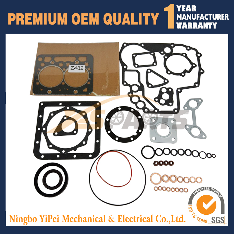 16853-99355 Full Gasket Kit for Kubota Z482 Engine16853-99355 Full Gasket Kit for Kubota Z482 Engine