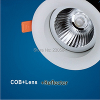 small size,big power 22w cob light with beam angle 13,23 professional 4 inch downlight SAA UL CE approved