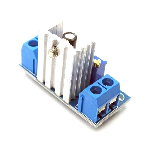 5 шт. LM317 DC-DC понижающий преобразователь понижающий модуль печатной платы линейного регулятора LM317 Регулируемый Напряжение регулятор напряжения