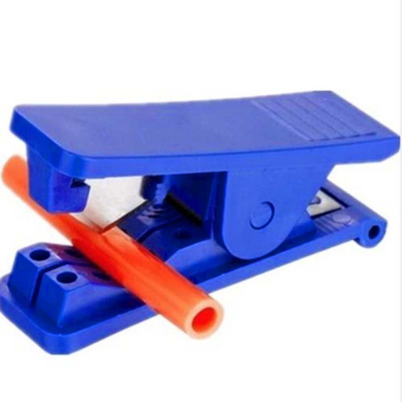 New High Quality Pipe Tube Cutter Nylon PVC PU Rubber Silicone Plastic Tube Pipe Hose Cutter Cut Up To 12mm 3/4 rdeer 42mm pvc pipe cutter pp r pu pe pipe plastic hose ratcheting cutters stailess steel blade cutting tool