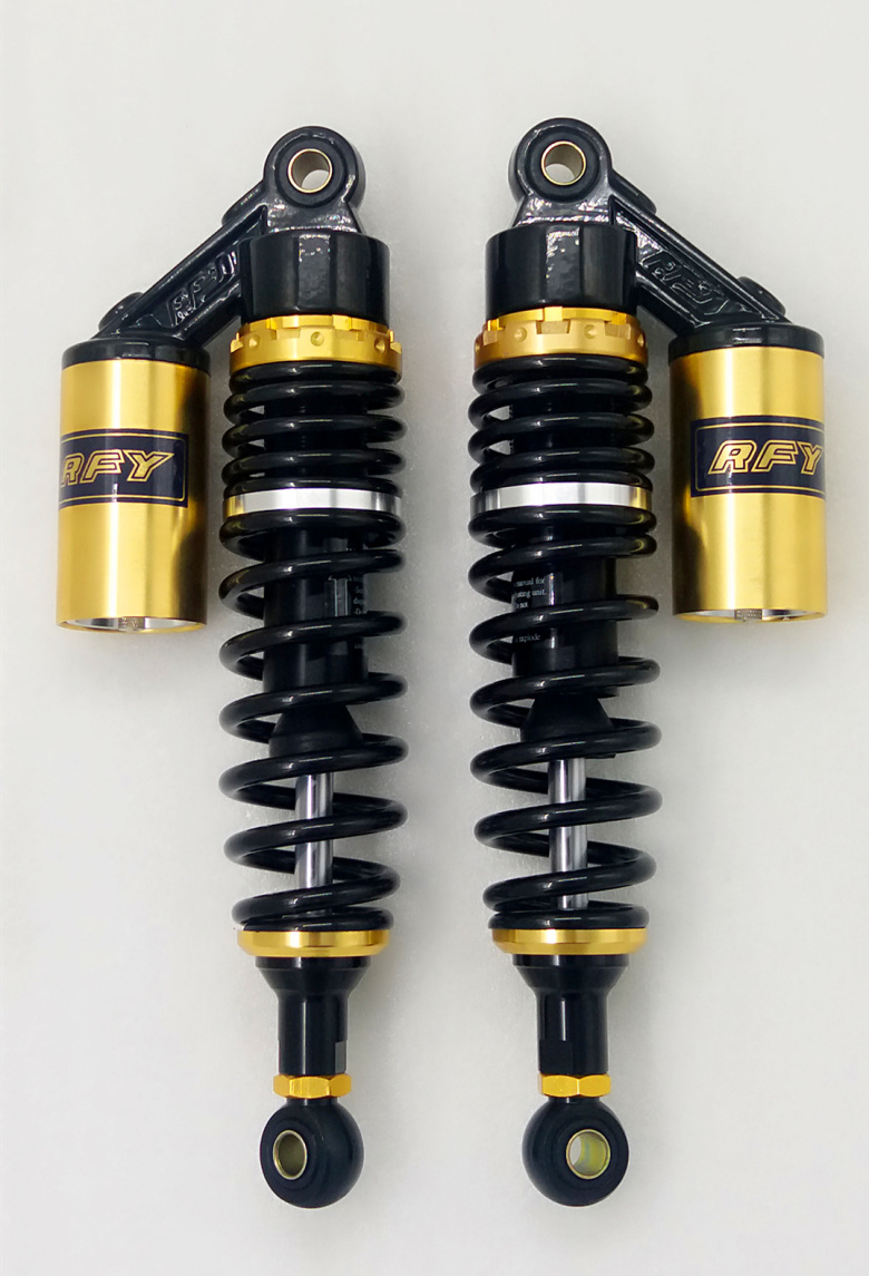 2pcs 320mm 12 5 330mm Rear shock absorber motorcycle 7 5MM spring for HONDA CB400 SF