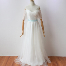 White Long Party Dress  Elegant Women for Wedding Bridesmaid Floor-Length