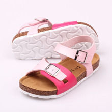 LARTUS Brand Boys Girls Shoes Boys Girls Sandals New Arrivals Fashion Kids Beach Shoes White Shoes 4 Color Size 24-34