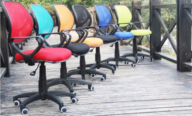 New Arrivals Simple Breathable Mesh Office Chair Swivel Lifting Portable Meeting Leisure Staff Computer Chair