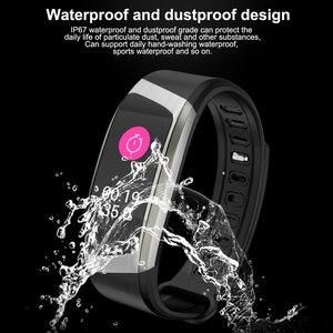 Image 5 - Fitness Armband Smart Uhr Männer Frauen Sport Band Fitness Tracker Smartband Blutdruck Wasserdichte Smartwatch Sport Armband Männer der Armbanduhr