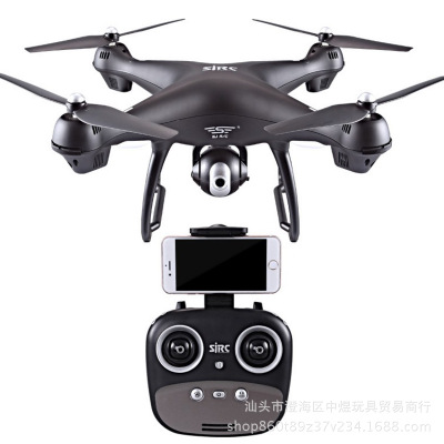 1080P/720P SJRC S70W Dual GPS FPV Drone With HD Wide-Angle Camera Follow Me Return Home Quadcopter Dron For Gift image