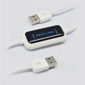 Image 4 - USB 2.0 szybki komputer PC na PC Online udostępnij synchronizację Link netto bezpośrednie przesyłanie danych mostek kabel LED łatwe kopiowanie między 2 komputerami