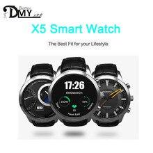 2016แฟชั่นX5สมาร์ทนาฬิกา3กรัมหุ่นยนต์4.4 MTK6572 WCDMA WiFiบลูทูธsmartwatch PK K18นาฬิกาสนับสนุนนาโนซิมการ์ดอัตราการเต้นหัวใจ