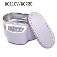Modern 30W 50W 110V 220V Mini Ultrasonic Cleaner For Jewelry Glasses Circuit Board Baby S Feeding