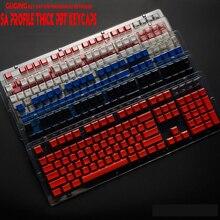 104 ключ SA профиль высоты толстый pbt профиль ключ крышка s с подсветкой для Вишневый выключатель MX механическая клавиатура поперечный вал ключ крышка