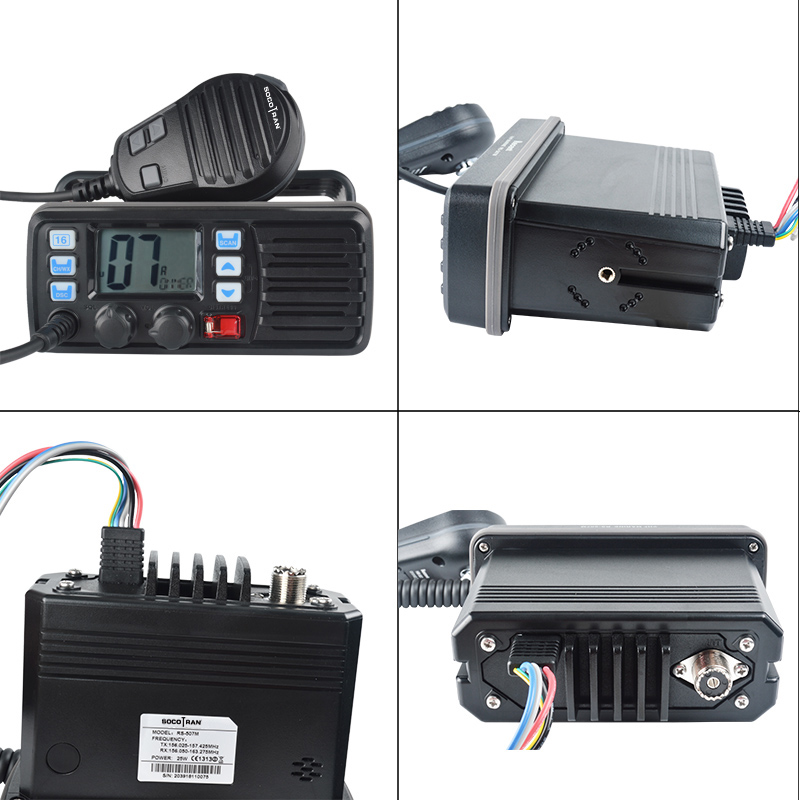 Image 5 - 25W High Power VHF Marine Band Walkie talkie Mobile Boat Radio Waterproof 2 Way Radio mobile transceiver RS 507M-in Walkie Talkie from Cellphones & Telecommunications