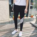 Top Men's active and Leisure Slashes Printed Harem Pants Trousers Thin Street Fashion Hip Hop Feet Pants 2016 Summer New