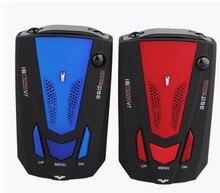 New Car Radar Detector 16 Band Voice Alert V7 anti Laser 360 Degree Anti Police GPS Speed Safety LED Display