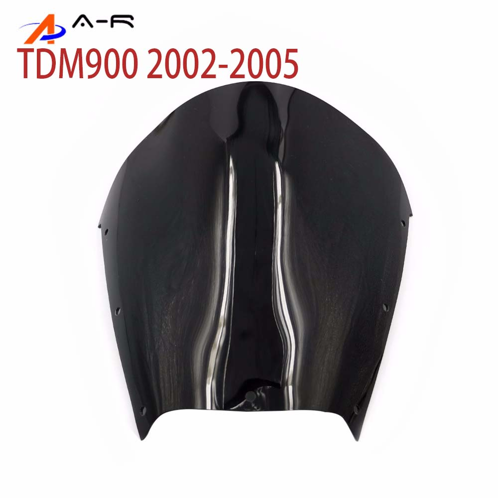 Window Wind Deflectors Windscreen for <font><b>Yamaha</b></font> TDM900 <font><b>TDM</b></font> <font><b>900</b></font> 02-05 2002 <font><b>2003</b></font> 2004 2005 Windshield Fairing shield Screen Airflow image