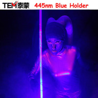 Free Shipping 450nm Blue Coarse Big Spot Laser Beam With Foot Switch Laser lights, For Laser Man Show